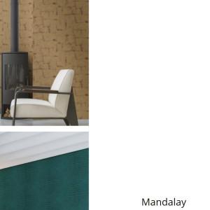 Обои Mandalay (Rasch)